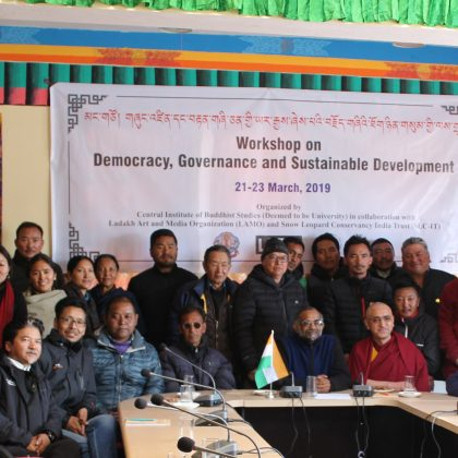 Three-day workshop on Democracy, Governance and Sustainable Development